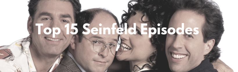 Top 15 Seinfeld Episode Blog Header