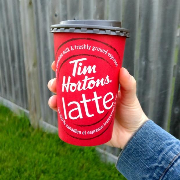 tim Hortons lattecup