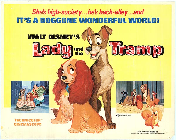 Original Lady and the Tramp Poster