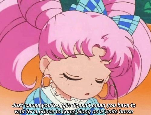 Sailor moon on not needing a man