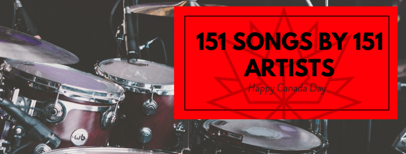151 songs by 151 Canadian artists