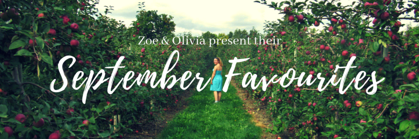 This is not A great Idea September Favorites Banner
