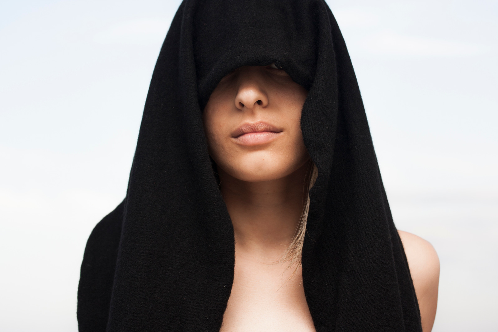 Canva - Photo of Woman With Black Towel on Her Head
