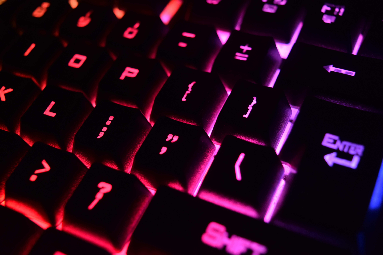 Canva - Mechanical Computer Keyboard